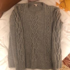 Women's GAP cableknit  sweater